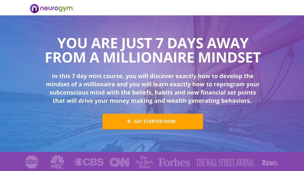 7 Day Millionaire Mindset Quickstart Program